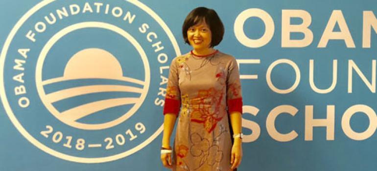 Anh hùng khí hậu\' người Việt nhận học bổng danh giá Quỹ Obama